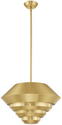 Livex Lighting Livex Amsterdam 1 Lt Satin Brass Mini Pendant
