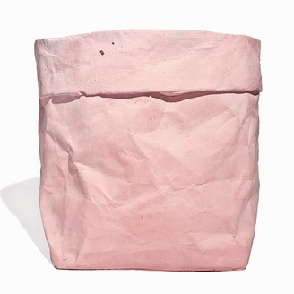 Studio Story Colour Concrete Paper Bag Large Pink