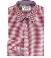 Thomas Pink Pauling Check Super Slim Fit Button Cuff Shirt