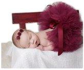 Hobees Fashion Unisex Newborn Girl Baby Outfits Photography Props Headdress Tutu Skirt