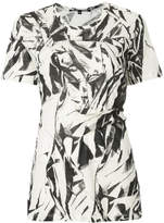 Proenza Schouler short sleeve printed T-shirt