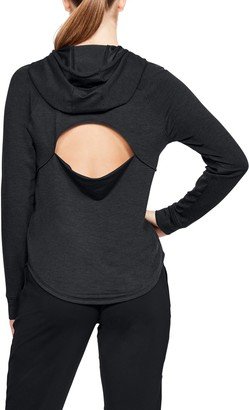 Under Armour Women's UA Featherweight Fleece Oversize Hoodie
