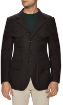 Tom Ford Notch Lapel Flap Pocket Jacket