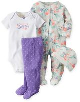 "Carter's 4-Piece Babysoft ""Daddy's Sweet Girl"" Take Me Home Set"