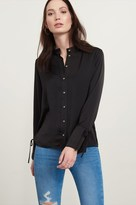 Dynamite Blouse with Tied Sleeves