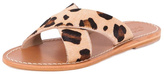 Inuovo Tiger Texture Flat Sandal
