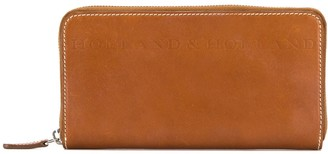 Holland & Holland Embossed Logo Continental Wallet