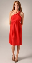 Short Twist Shoulder Dress