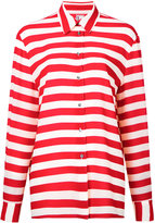 Antonio Marras striped shirt - women - Polyester/Spandex/Elastane - 42