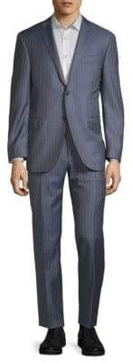 Corneliani Pinstripe Wool Suit