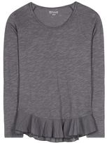 81 Hours 81hours Nella Cotton Jersey Top