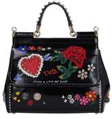 Dolce & Gabbana Dolce E Gabbana Women's Black Leather Handbag.