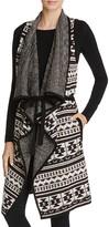Splendid Drape Front Sweater Vest