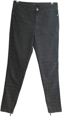 Karl Lagerfeld Paris Black Cotton Jeans for Women