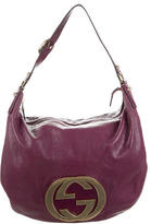Gucci Leather Blondie Hobo