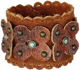 Leather Rock B960 Bracelet
