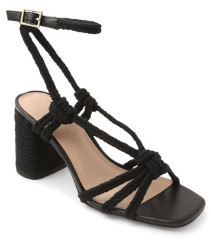 BCBGeneration Texa Tie-Up Rope Sandals Women's Shoes