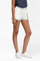 French Connection Castaway Lace Mini Shorts