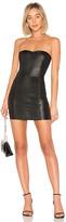 Sprwmn Leather Mini Dress