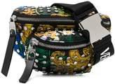 Versace baroque print studded belt bag