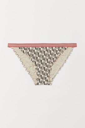 H&M Cheeky Tie Bikini Bottoms
