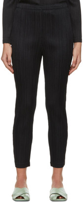 Pleats Please Issey Miyake Black Thicker Trousers