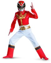 Disguise Kid's Power Rangers Red Ranger Megaforce Classic Costume