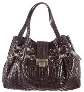 Jimmy Choo Embossed Ramona Bag