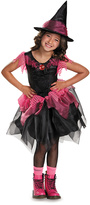Disguise Black & Pink Witch Dress-Up Set - Kids