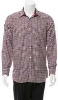 Burberry Gingham Button-Up Shirt