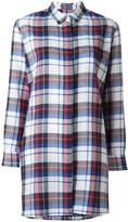 Golden Goose Deluxe Brand long flannel shirt - women - Cotton - XXS