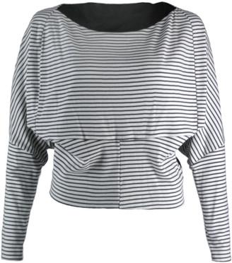 Format Circ Sweater, Stripes Black - L . | black white - Black white