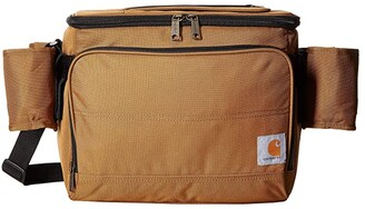 Carhartt Deluxe Cooler w/ Beverage Sleeve Brown) Handbags