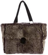 Chanel Sport Line Rabbit Fur Tote