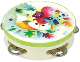Vilac Woodland Wooden Tambourine Multicoloured