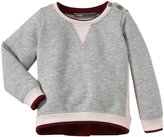 Vince Kids Colorblock Sweater (Toddler/Kid) - Blush / Coastal-5