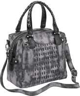 Heine Metallic Finish Handbag