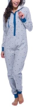 Munki Munki Star Wars R2-D2 Hooded Fleece Union Suit Pajamas