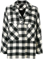 Aspesi gingham print coat