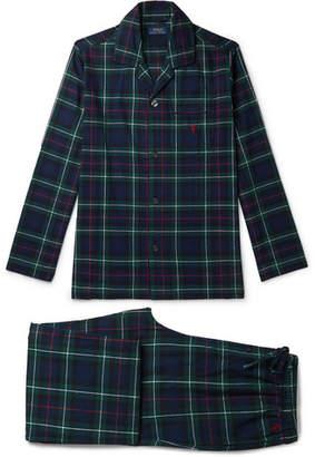 Polo Ralph Lauren Kensington Checked Cotton-Flannel Pyjama Set
