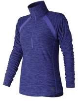 New Balance Women's WT81114 Anticipate Half Zip Pullover