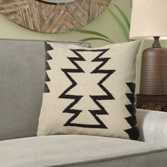 MistanaTM Hitchin Cotton And Wool Throw Pillow Cover Mistana