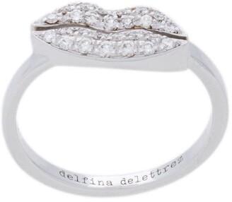 Delfina Delettrez Kiss Me Lips ring