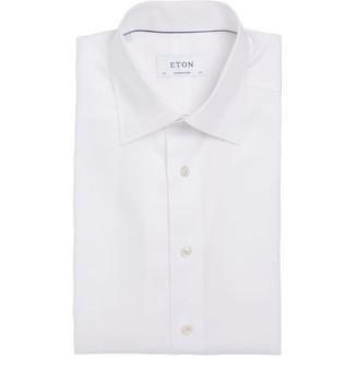 Eton Cotton Short-Sleeved Shirt