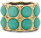 House Of Harlow Nuri Statement Ring in Turquoise. - size 7 (also in )