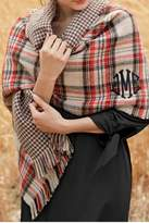 Mud Pie Reversible Plaid Scarf