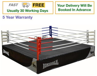 Lonsdale London Deluxe 16Ft Competition Ring