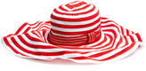 MISSONI MARE Striped cotton-blend wide-brim hat