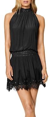 Ramy Brook Kelsey Studded Lace Trim Dress