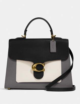 Coach Tabby Top Handle In Colorblock